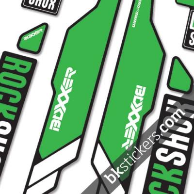 rockshox boxxer dark green