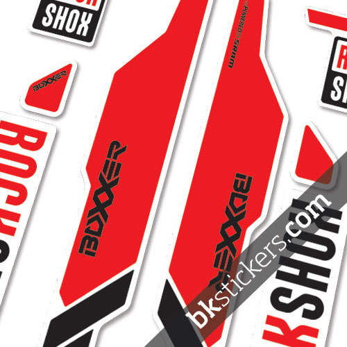 Rockshox Boxxer light red