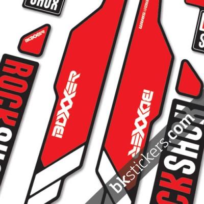 rockshox boxxer light red