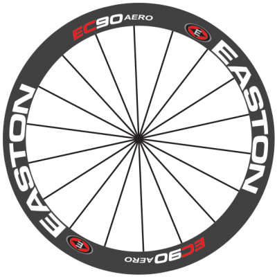Easton EC90 decals kits - bkstickers.com