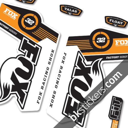 Fox 32 orange