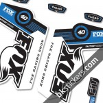 Fox 40 Decals Kit Forks - bkstickers.com