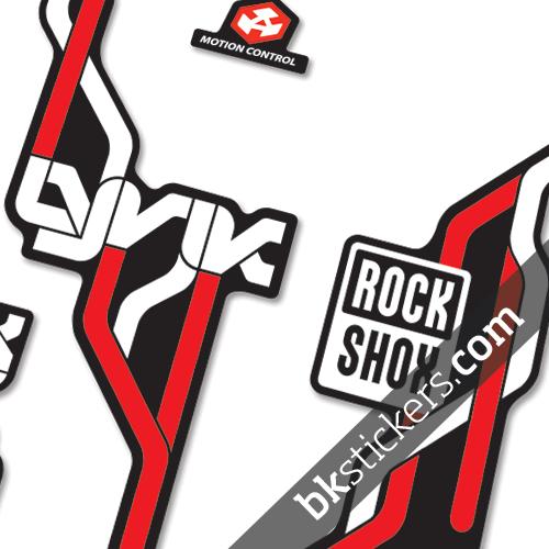 Rockshox Lyric Type B red