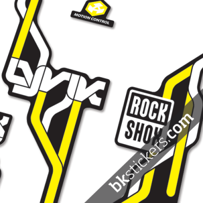 Rockshox Lyric Type B yellow