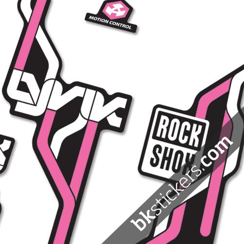 Rockshox Lyric Type B pink