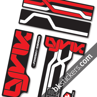 Rockshox Lyric B white