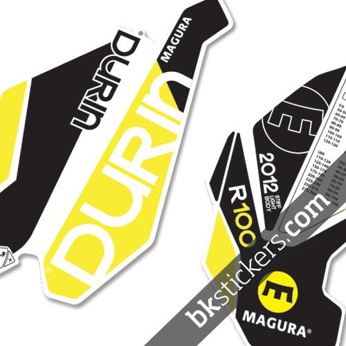 Magura R100 yellow