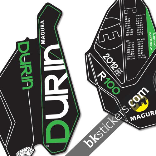 Magura Durin R100b green