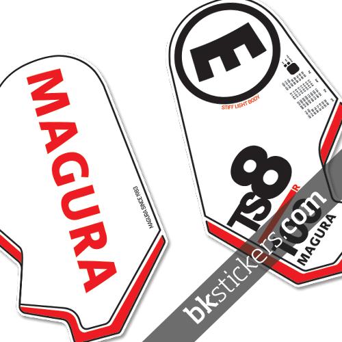 Magura TS8 red black