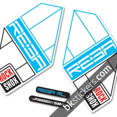 Rockshox Reba 2012 light blue