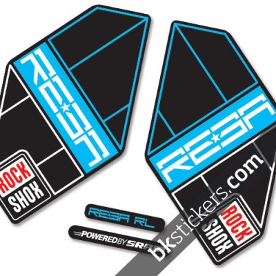 Rockshox Reba 2011 B light-blue