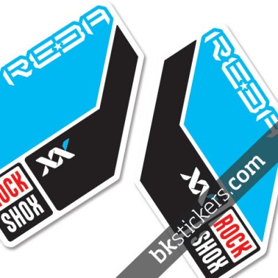 Rockshox Reba 2011 light-blue
