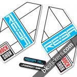 Rockshox Reba 2012 blue