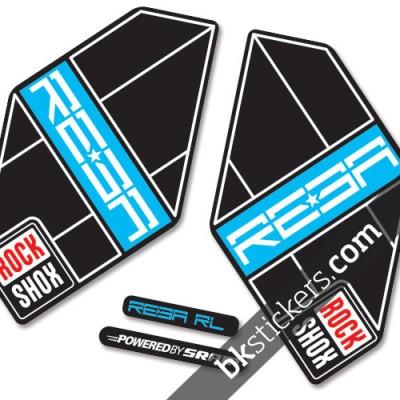 Rockshox Reba 2011 B blue