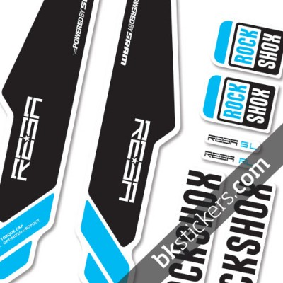 Rockshox Reba 2013 light-blue