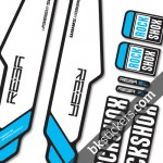 Rockshox Reba 2013 B light-blue