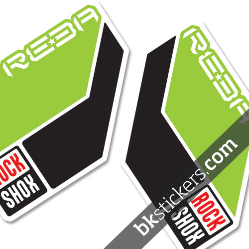 Rockshox Reba 2011 light green