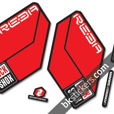 Rockshox Reba 2011 B light-red