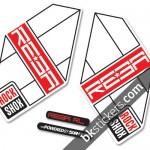 Rockshox Reba 2012 light-red