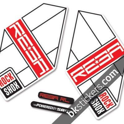 Rockshox Reba 2012 light-red
