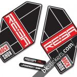 Rockshox Reba 2011 B light red