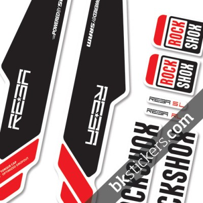 Rockshox Reba 2013 light-red