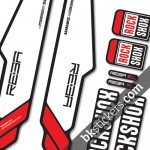 Rockshox Reba 2013 B light red
