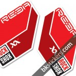 Rockshox Reba 2011 red