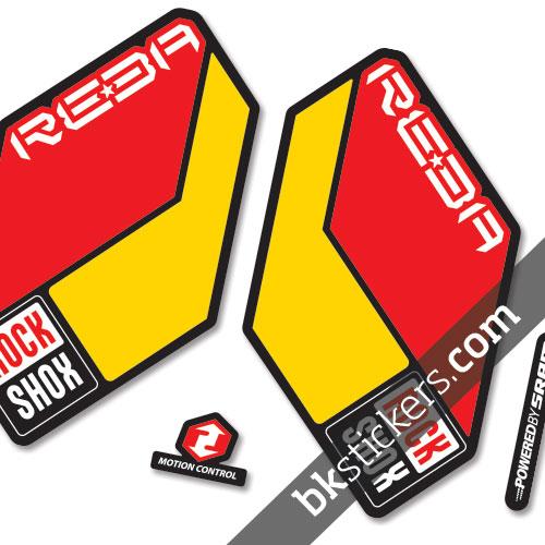 Rockshox Reba 2011 B Duo