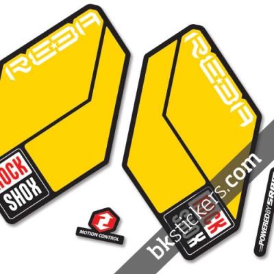 Rockshox Reba 2011 B yellow