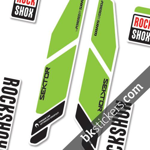 Rockshox Sektor light-green