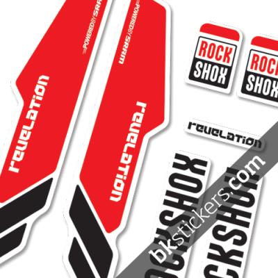 Rockshox Revelation 2013 red