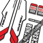Rockshox Revelation 2013 B red