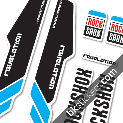 Rockshox Revelation 2013 blue