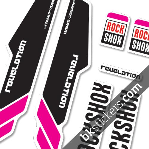 Rockshox Revelation 2013 pink