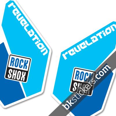 Rockshox Revelation blue