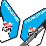 Rockshox Revelation B light blue