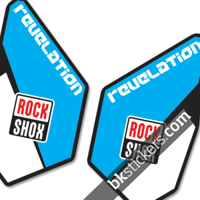 Rockshox Revelation B light blue