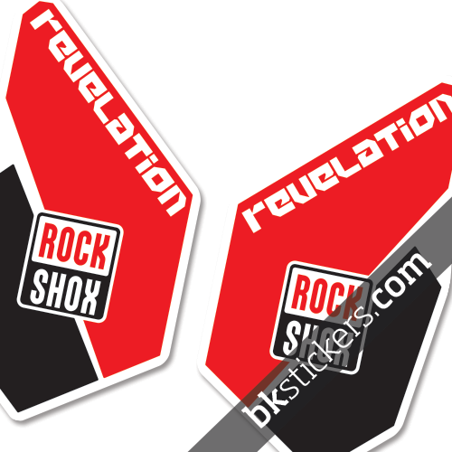 Rockshox Revelation red