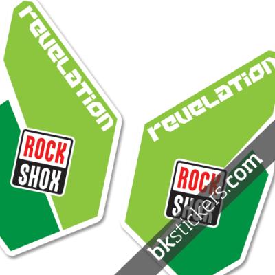 Rockshox Revelation green