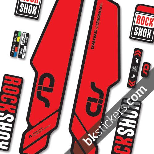 Rockshox SID 2014 b red