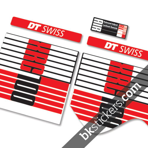 Dt Swiss Xrc 100 Rl Bksticker Custom Fork Stickers