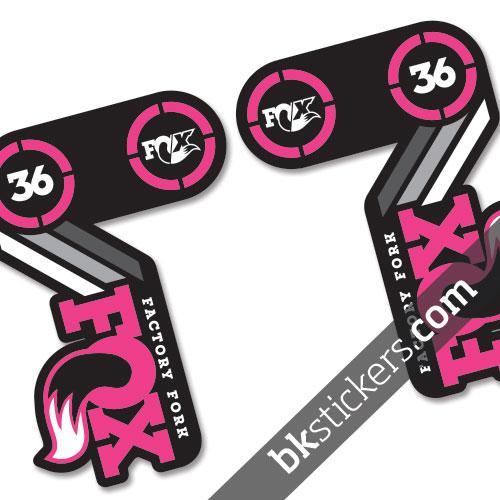 Fox 36 40th Anniversary Cyan Pink