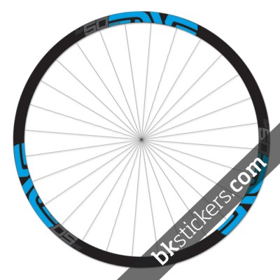 Enve M50 Fifty 29 custom wheels stickers bkstickers blue