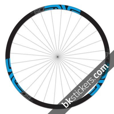 Enve M50 Fifty 29 custom wheels stickers bkstickers blue