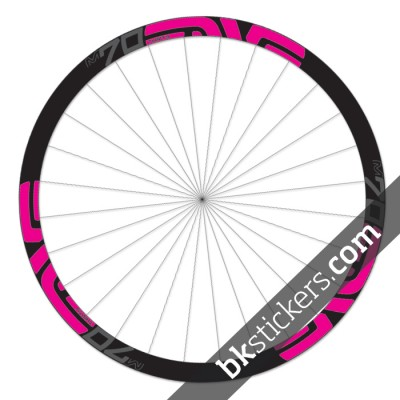 Enve M70 Thirty 27,5 custom wheels stickers pink