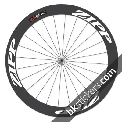 zipp 404 custom wheels stickers white