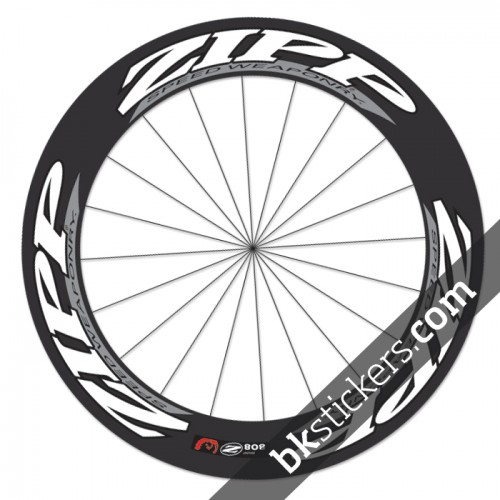 Zipp 808 custom wheels stickers