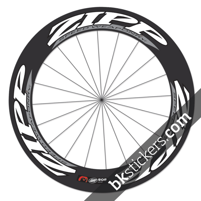 Custom Zipp 808 Decals