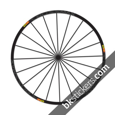 Mavic Crossmax SL Stickers kit